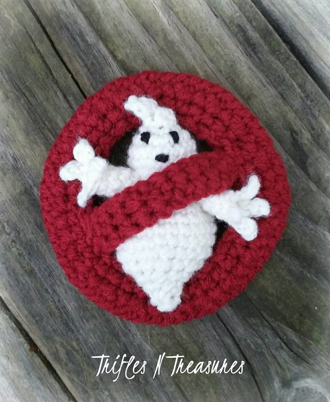 Crochet a Ghostbusters Logo - You Ain't Afraid of No Ghosts!