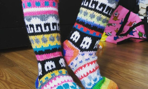 Life Has You Down? Gaze Upon These Glorious Ghost Socks!