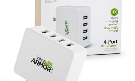 Special Offer for KnitHacker Readers! Pick Up This intelliARMOR 4-Port USB Wall Charger and SAVE!