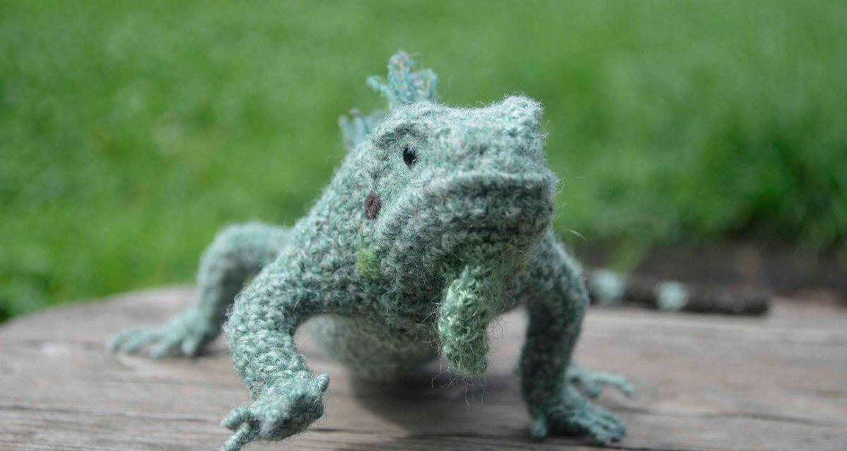 Mañana, Iguana … Yonezawa Nami's Incredible Crocheted Iguana