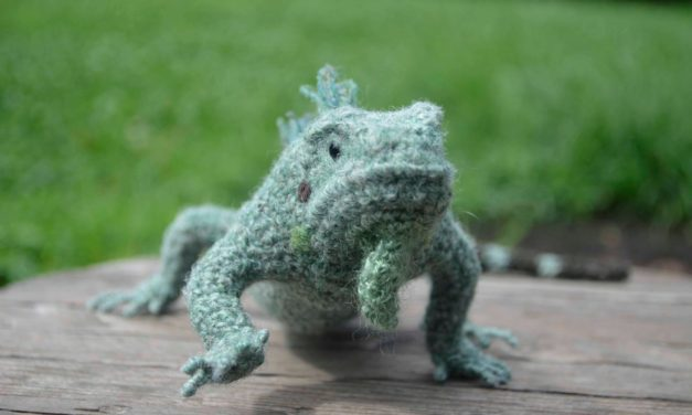 Mañana, Iguana … Yonezawa Nami's Incredible Crocheted Iguana