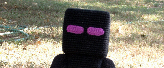 Finn's Pick: Spawn Your Own Enderman Plushie Amigurumi With This Free Crochet Pattern