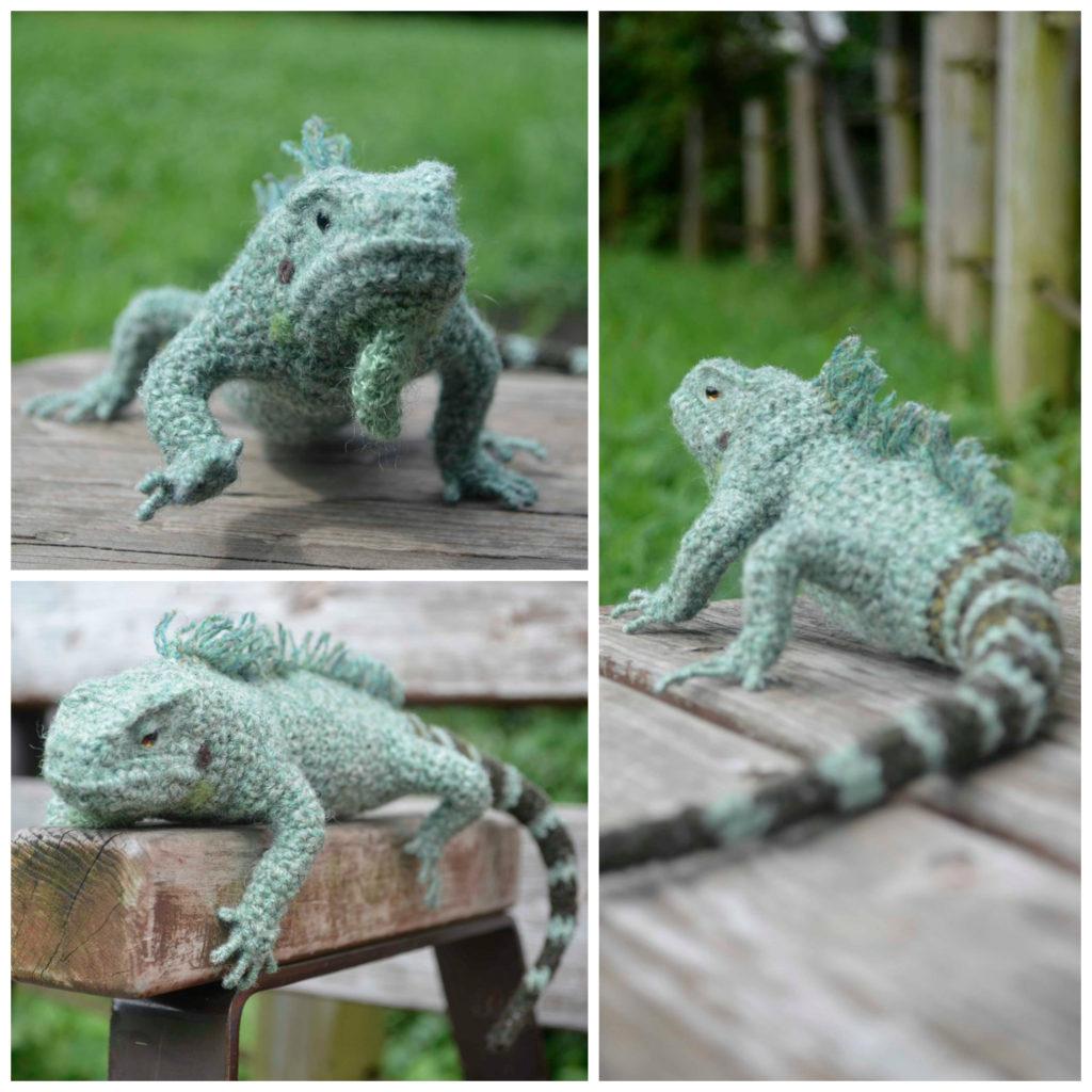 Mañana, Iguana ... Yonezawa Nami's Incredible Crocheted Iguana