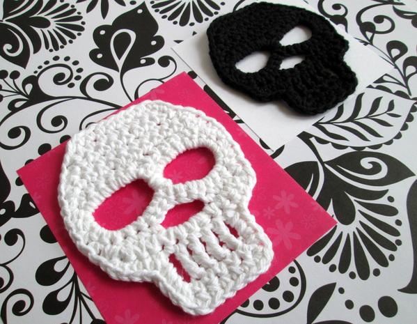Standout Skull Motif – Free Crochet Pattern