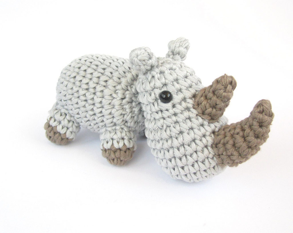 Let's Crochet for World Rhino Day!