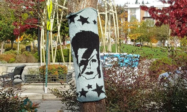 Who'll Love Aladdin Sane? Me Me Me! Check Out This David Bowie Yarn Bomb …