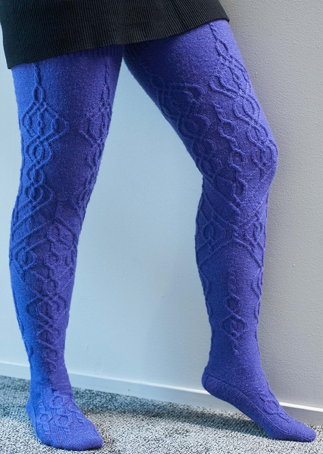 Are You a Knitter AND a Thigh-High Sock Lover? I Found Just the Pattern FOR YOU!