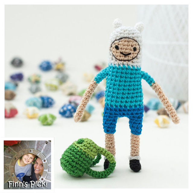 Finn's Pick: Finn the Human Amigurumi!