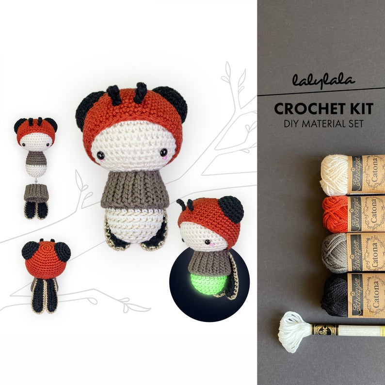 Patterns and Kits by Lydia Tresselt of Lalylala Crochet #crochet #amigurumi