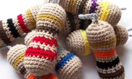 You Can Make Anything Into Adorable Amigurumi – Check Out These Colorful Resistors!