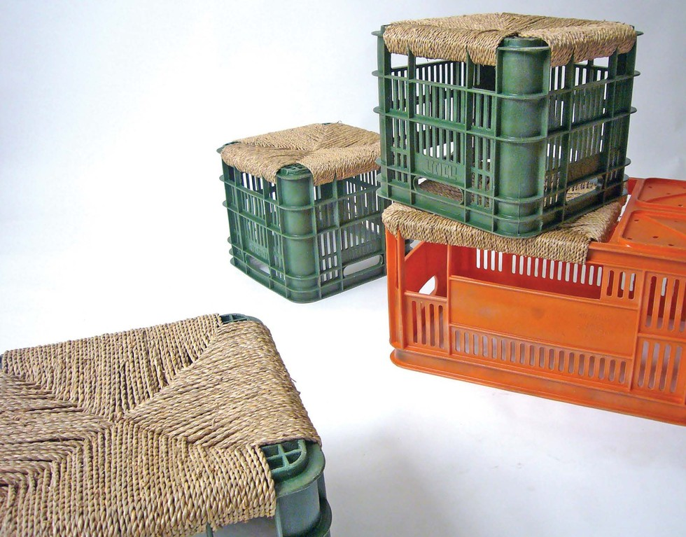 DIY Crates - I Bet These Would Look Great With Yarn