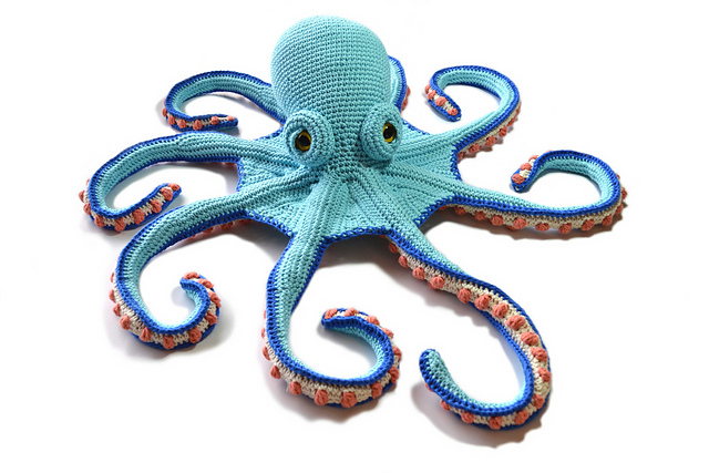 Finn's Pick: Crochet a Claude the Octopus