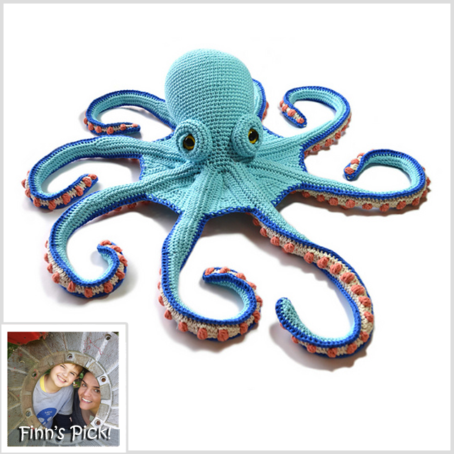 Crochet a Claude the Octopus