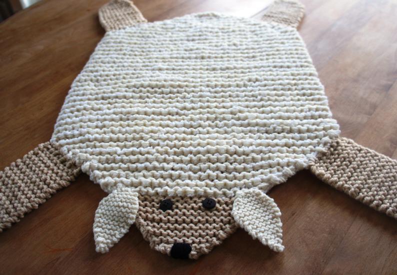 Knit Rug Patterns #knitting