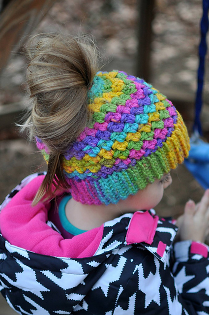 The Best Messy Bun Crochet Hat Patterns The Definitive Ponytail
