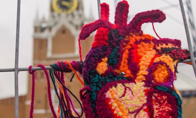 3D Anatomical Heart Yarn Bomb by Katika – You Have To See This …