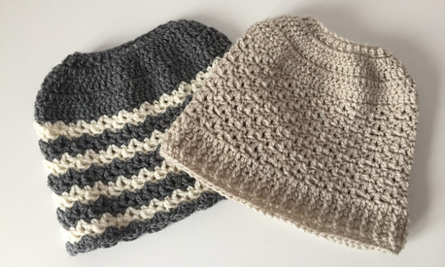 13 Unique Ponytail Hat Patterns – These Knit & Crochet Messy Bun Beanies Really Stand Out!