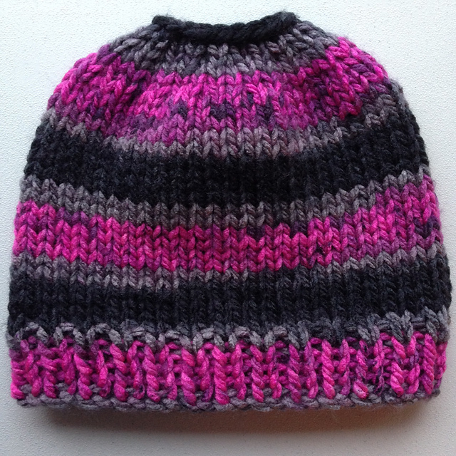 The Best Free Knit Ponytail Hat Patterns Aka Messy Bun Beanies A