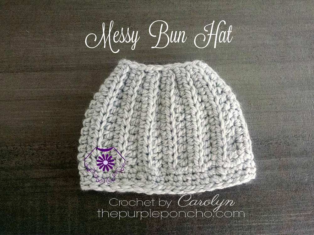 The Best Messy Bun Crochet Hat Patterns The Definitive