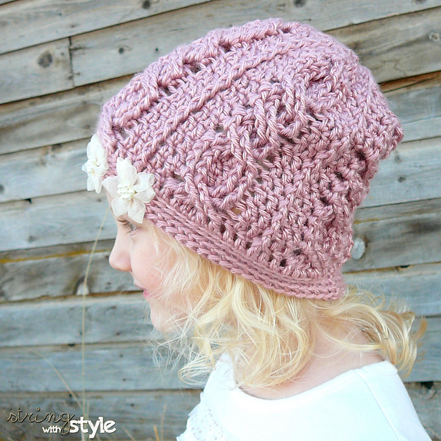 Made With a Twist - 10 Crochet Cables Patterns You'll Love