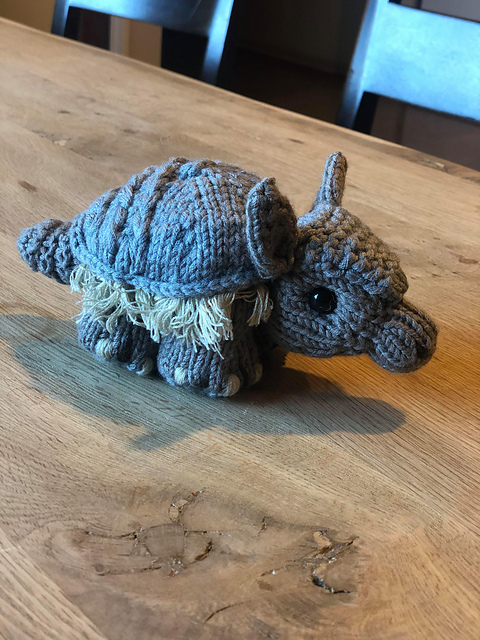 6 Knit and Crochet Armadillo Patterns! - This Post is Dedicated to Matthew McConaughey, Willie Nelson and Oddballs Everywhere!
