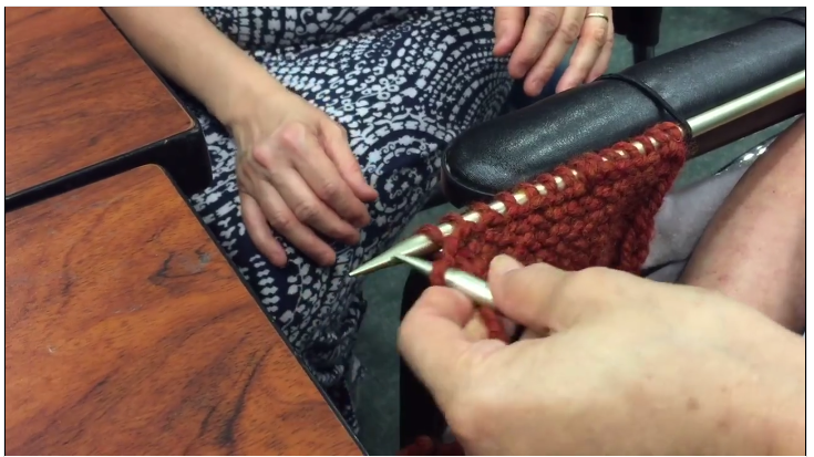Woman With Use of One Arm Learns to Knit With This Simple Trick