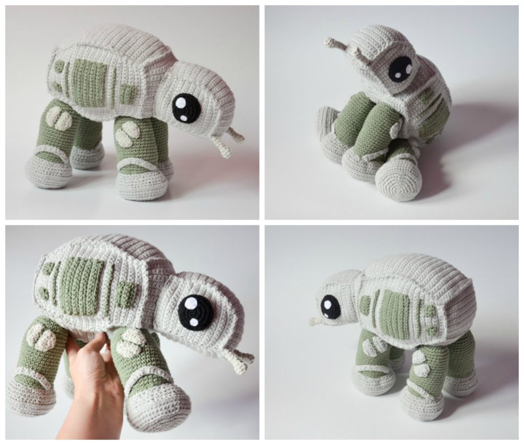 How To Crochet an AT-AT Walker From Star Wars! Pattern Available Now
