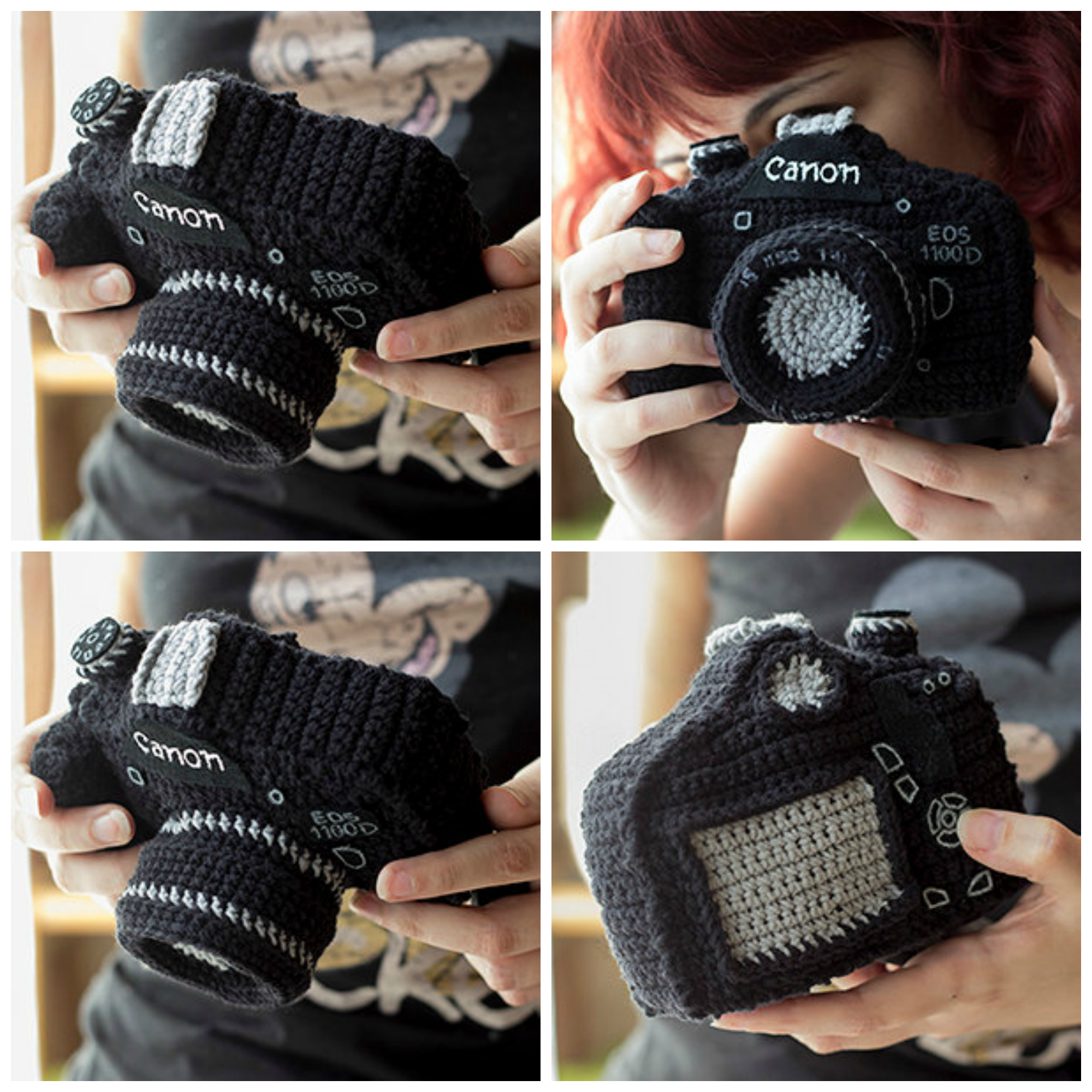 Amigurumi Reflex Camera - Get The Pattern, Make a Unique Gift!