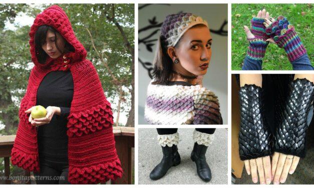 The Best Crocodile Stitch Patterns – A Unique Crochet Trend!