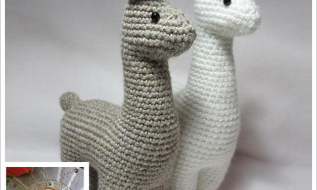 Finn's Pick: Charming Little Llama Amigurumi by Julie Chen