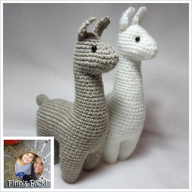 Finns Pick Charming Little Llama Amigurumi By Julie Chen Knithacker