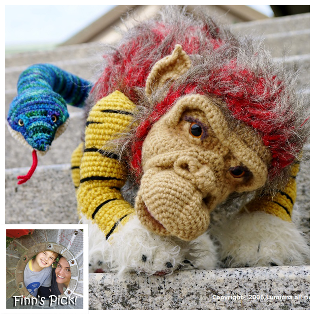 Mind-Bogglingly Amazing Amigurumi - Japanese 'Nue' Crocheted by Lumièna