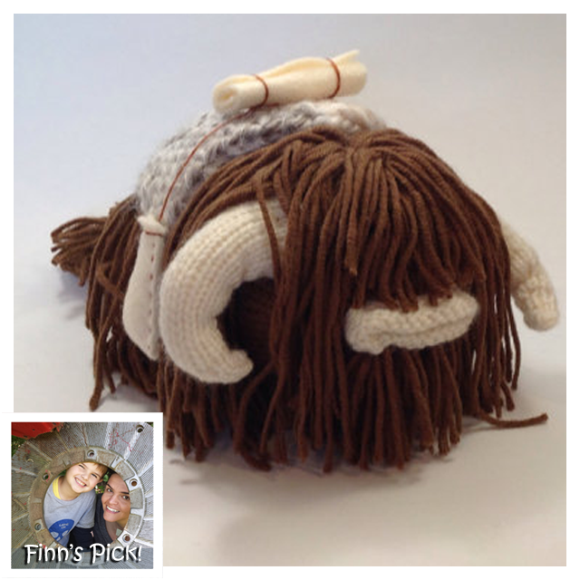 Finn's Pick: Great Big Hairy Knit Bantha by MonsterDen