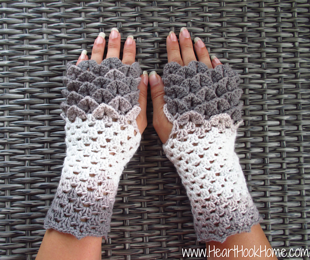 The Best Crocodile Stitch Patterns – This Winter's Popular Crochet Trend!