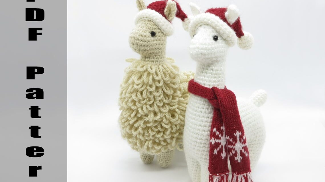 Finn's Pick: Charming Little Llama Amigurumi by Julie Chen … Holiday Edition!