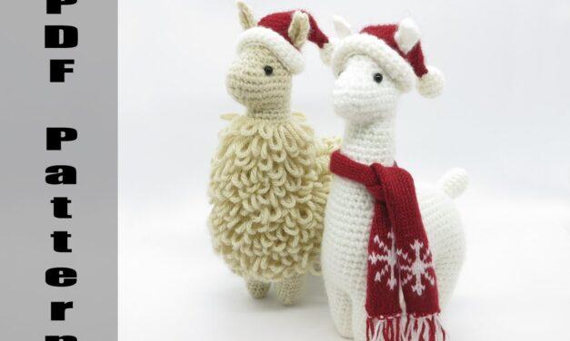 Finn's Pick: Charming Little Llama Amigurumi by Julie Chen … Holiday Edition!