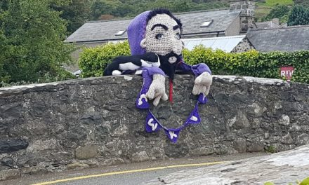 Meet Gwril, 'The Scary Bridge Troll' – Now That's How You Do a Yarn Bomb!
