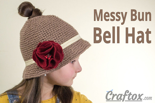 b68ec457e9c The Best Free Knit Ponytail Hat Patterns (aka Messy Bun Beanies) – a  Popular. ""
