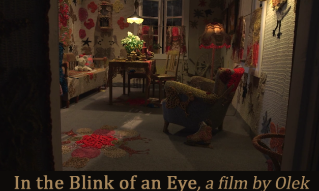 """In the Blink of an Eye"" – a Short Film by Olek"