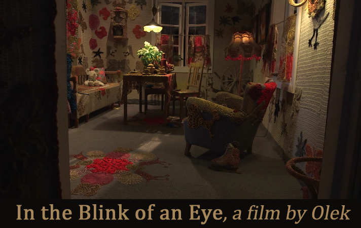 """""""In the Blink of an Eye"""" – a Short Film by Olek"""