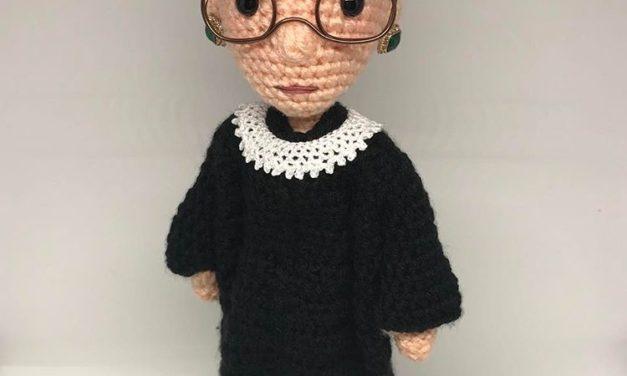 Ruth Bader Ginsburg – The Notorious RBG Amigurumi by Tobey King