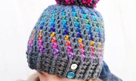 Stunning Northern Lights Pom Pom Hat – Crochet Pattern from Northern Knots Canada
