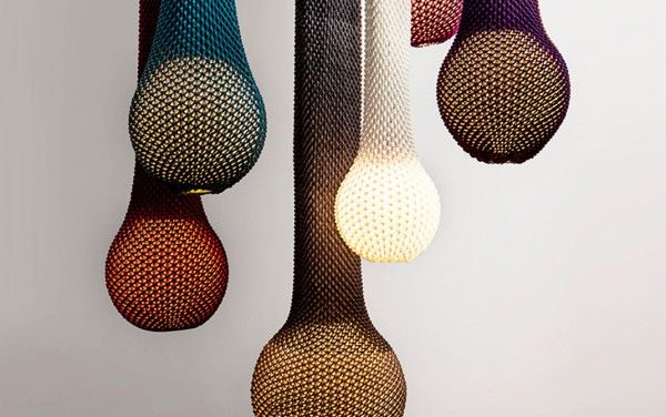 Knitted Light Fixtures Designed by Ariel Zuckerman