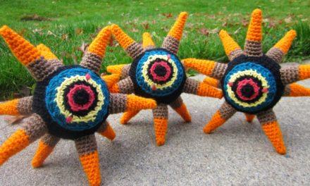 Finn's Pick: Crochet a Morth from The Legend of Zelda: The Wind Waker – Free Pattern!