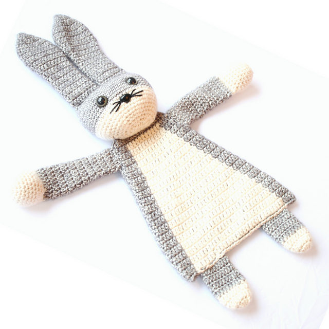 Darling Bunny Ragdoll – Crochet a Great Baby Gift!