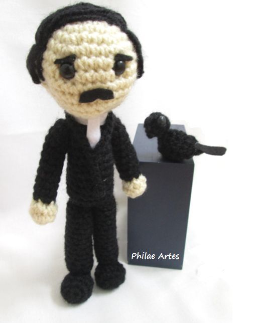 11 Knit & Crochet Projects Inspired by Edgar Allan Poe - Lots of Patterns!