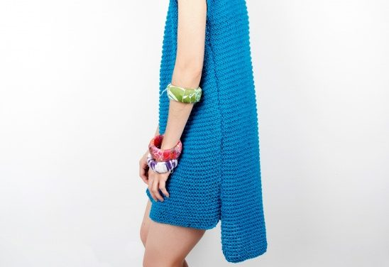Easy To Make and Fun to Wear, Get This 'Yoshimi Knit Dress' On Your Needles Now