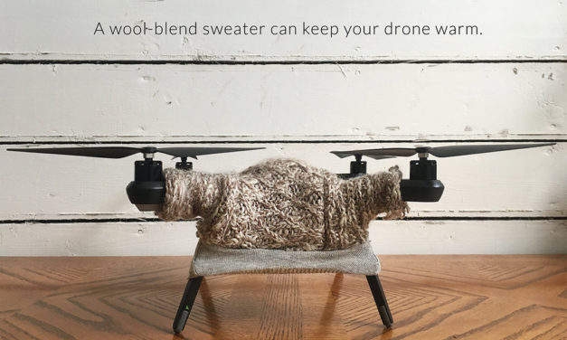 Your Drone Called, It Wants a Warm Sweater, Preferably Cable-Knit …