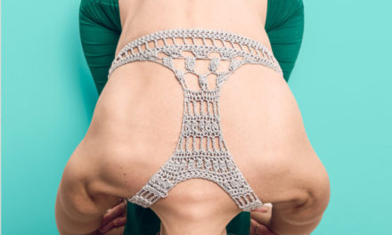 You'll Fall in Love With This Crochet Back Yoga Bra