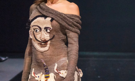 Knit Salvador Dali Dress